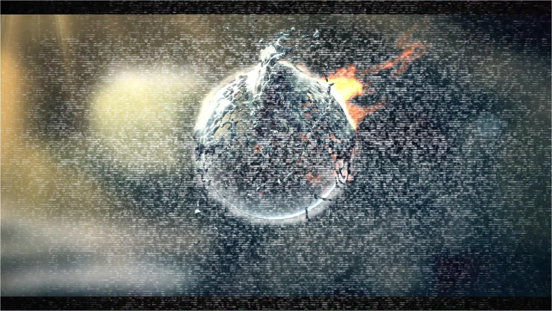 fire water splash logo v2 intro template 100 sony vegas pro