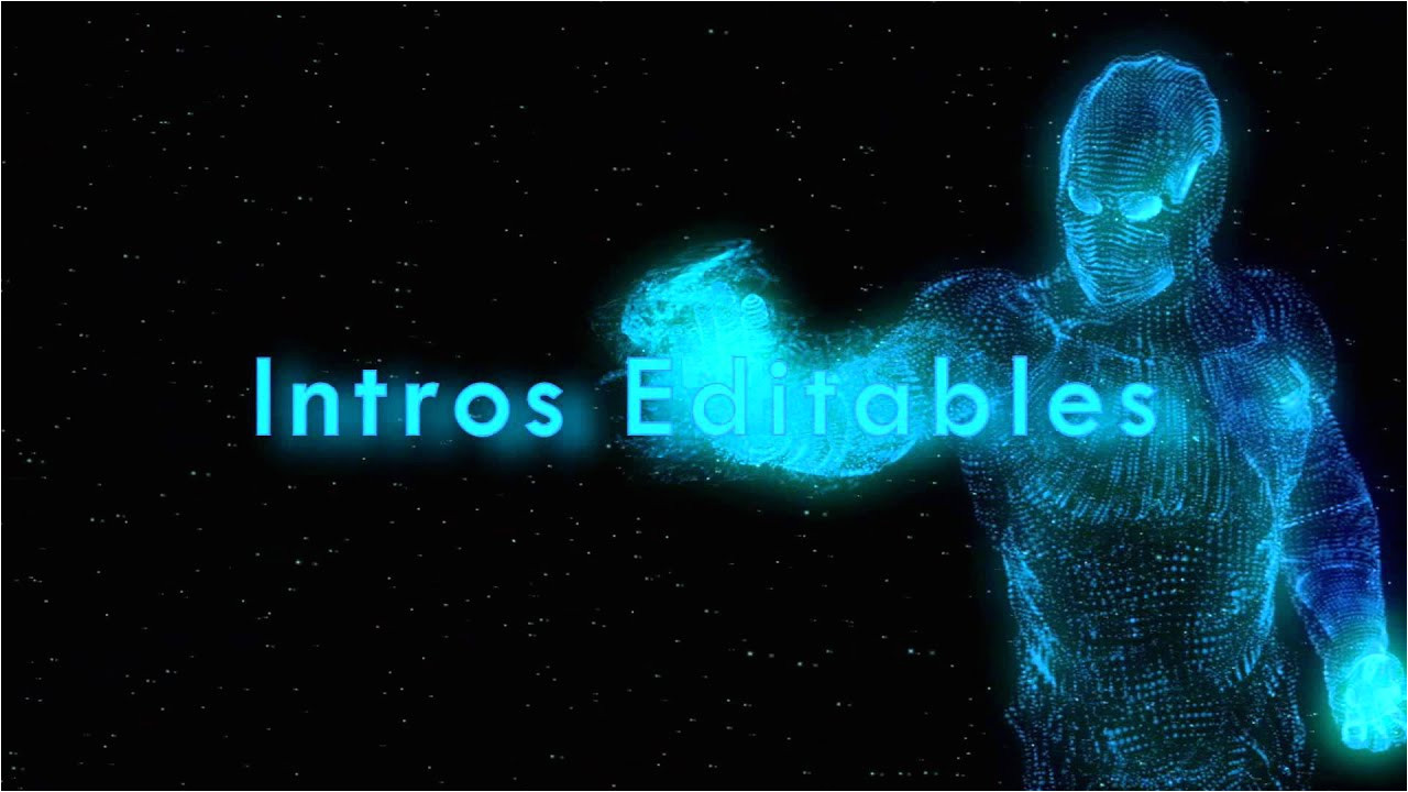 Sony Vegas Free Project Templates Intro Iron Man Editable Template sony Vegas Hd Youtube
