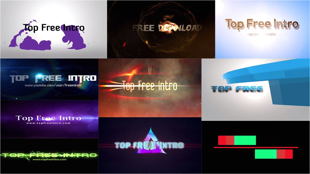 Sony Vegas Pro 9 Templates Free Download top 10 Free Intro Templates Quot sony Vegas Pro 13 Intro