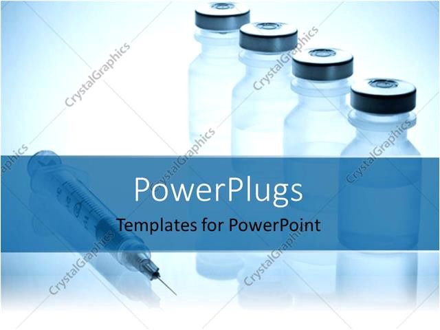 Sophisticated Powerpoint Templates Powerpoint Template Medical Injection Drugs Medical Jars
