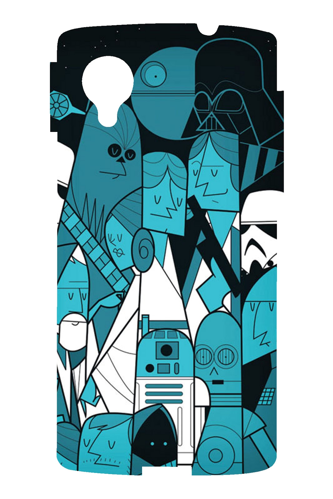 spigen nexus 5 hybrid star wars back
