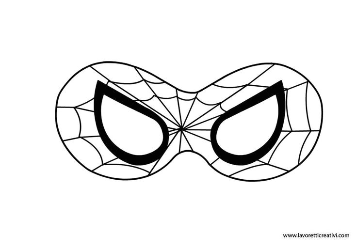 collectionsdwn spiderman mask template for kids
