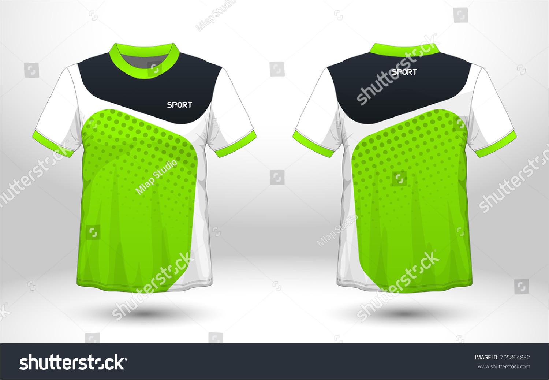 green black layout football sport tshirt 705864832