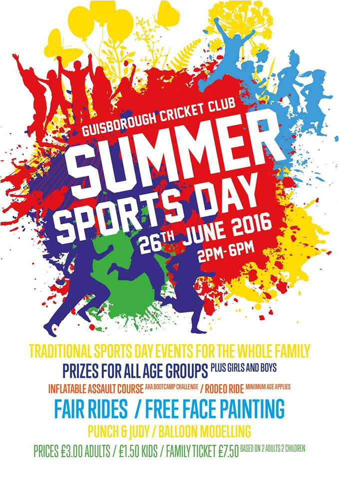 sports day posters design
