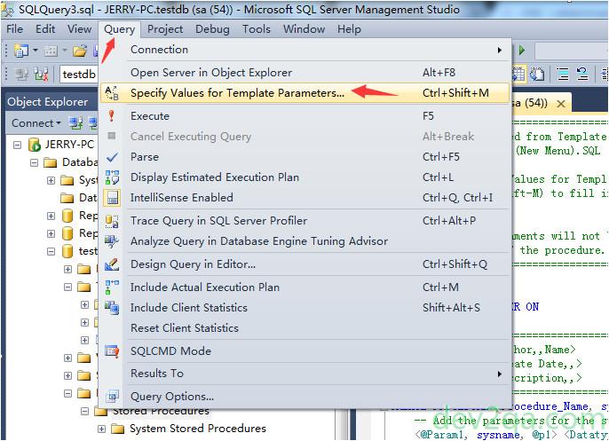 jdbc callablestatement stored procedure input parameters example