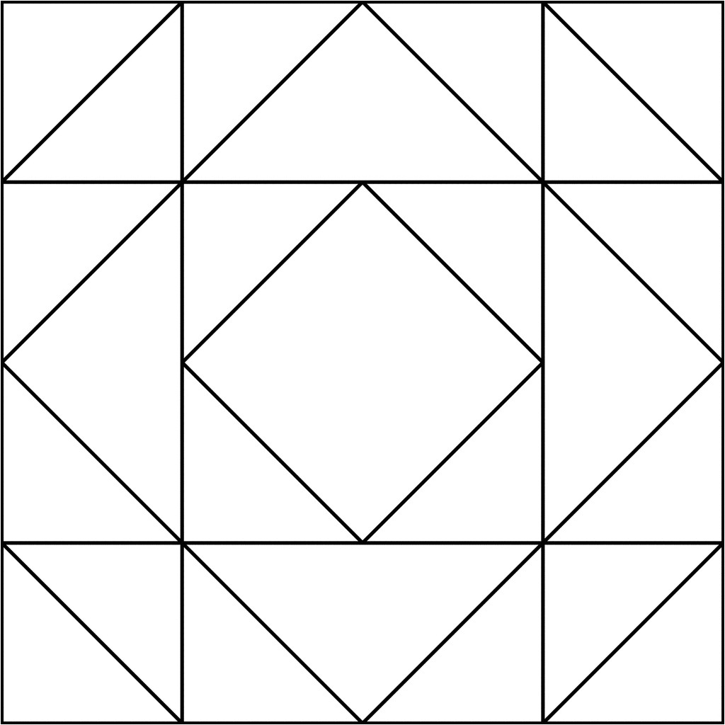 Square Templates for Quilting Coloring Pages Quilt Patterns Coloring Pages Printable