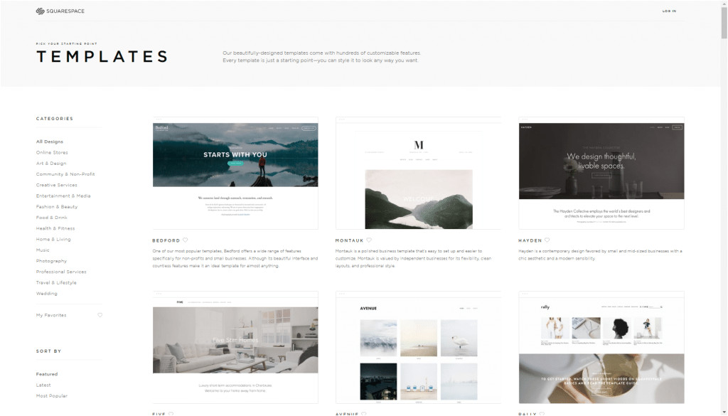 Squarespace Change Template Compare Wix Vs Squarespace is Wix Better Than Squarespace