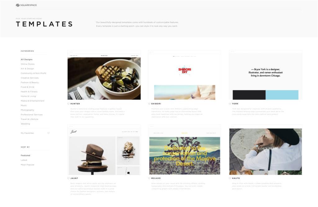 how to create a beautiful portfolio website with squarespace