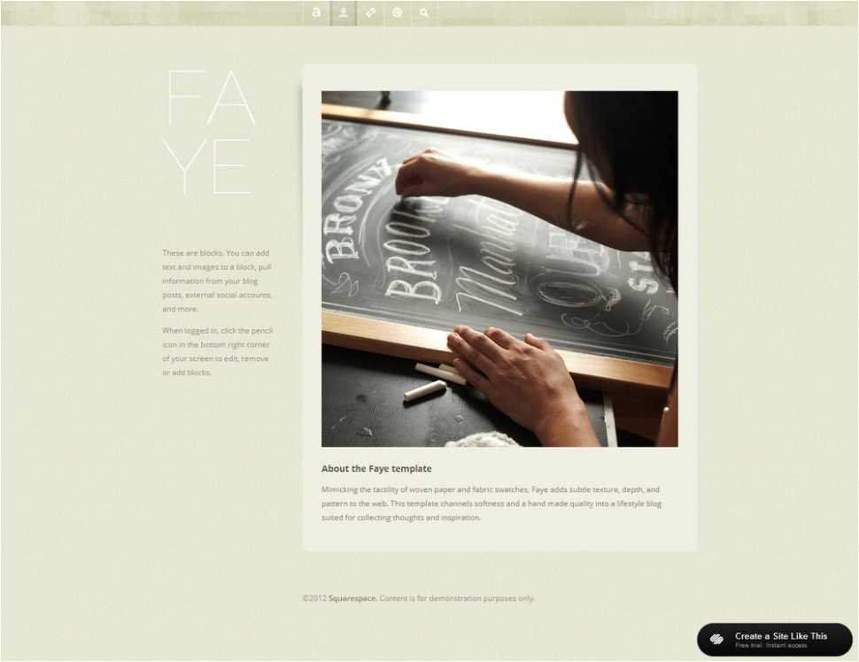 download squarespace templates with sidebar