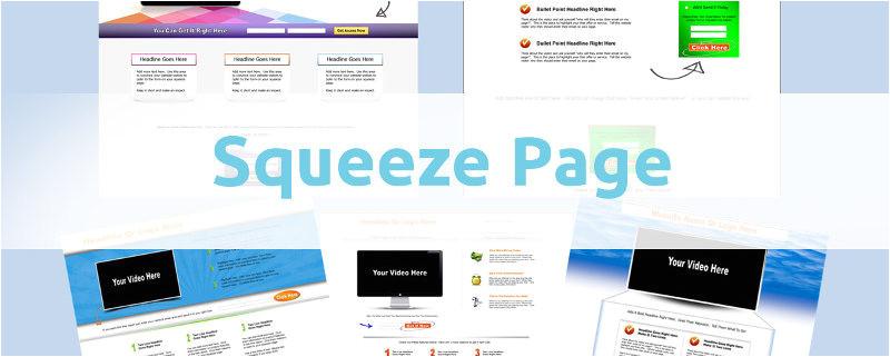 che cos la squeeze page