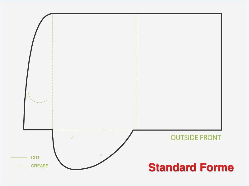 presentation folder template illustrator