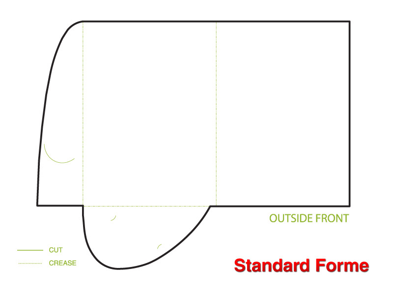 Standard Folder Template Standard Presentation Folder A4 Template Presentation