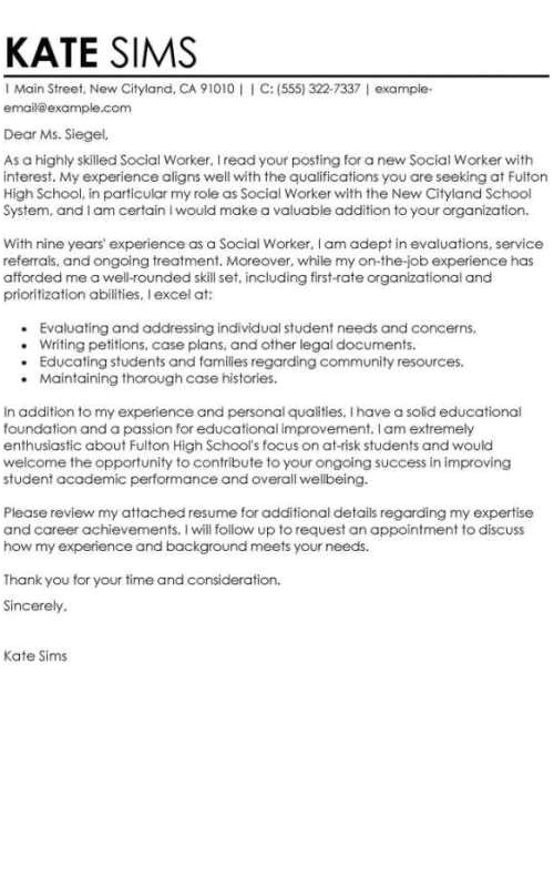 Standout Cover Letter Examples Cover Letters that Stand Out Examples formatted