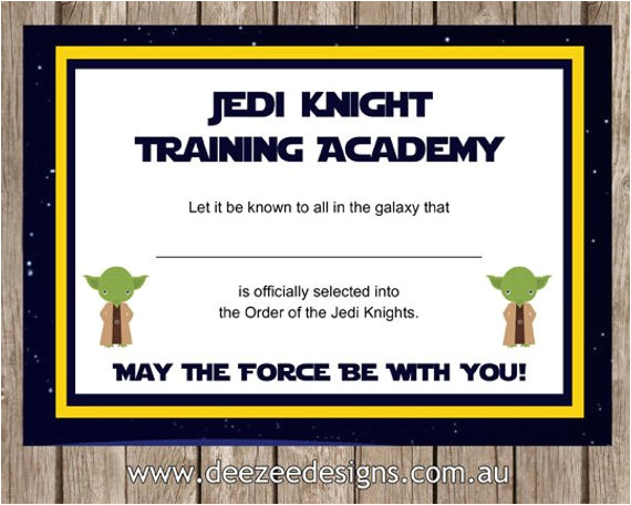 printable star wars jedi certificate