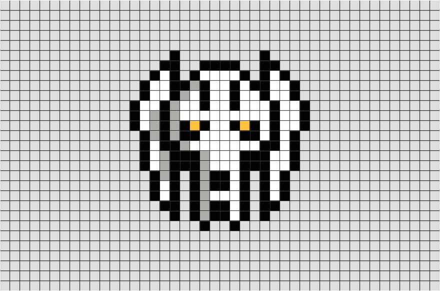 star wars general grievous pixel art