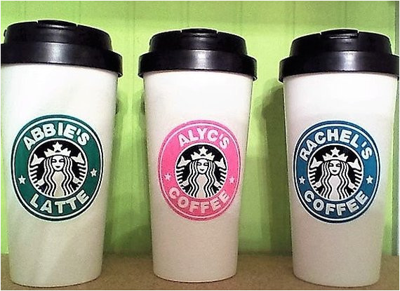Starbucks Personalized Tumbler Template Personalized Starbucks Tumbler
