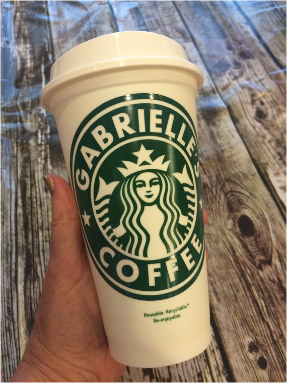 starbucks cup personalized personalized