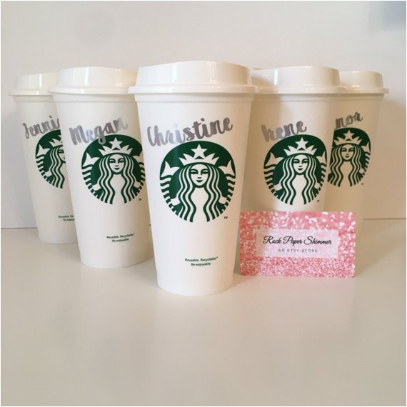Starbucks Personalized Tumbler Template Starbucks Custom Tumbler