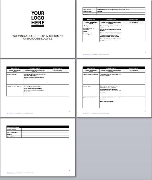risk assessment stepladder