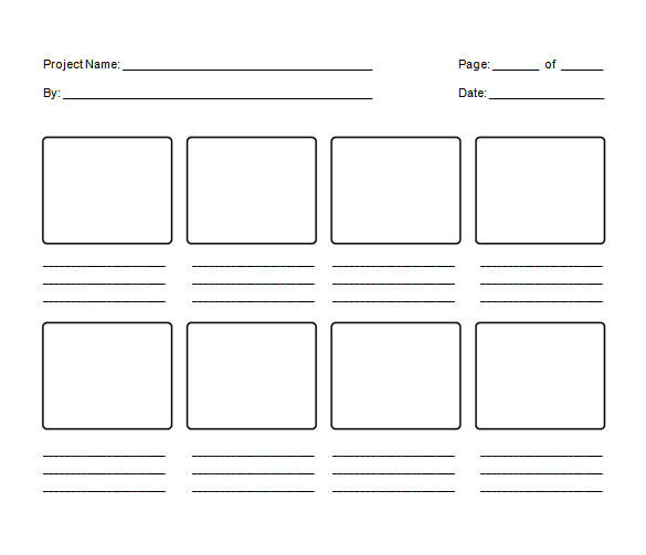 Storyboard Illustrator Template 82 Storyboard Templates Pdf Ppt Doc Psd Free