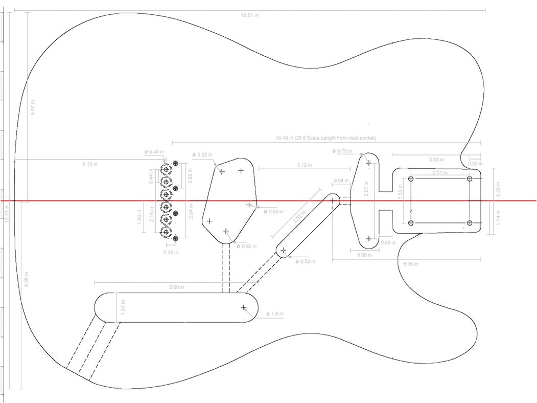 Strat Neck Template Fender Stratocaster Template if Youre Looking for A Strat