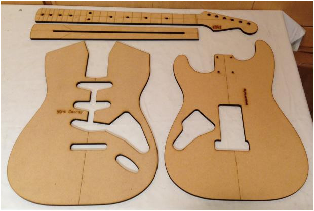 1053549 guitar building templates 50 s strat routing luthier template