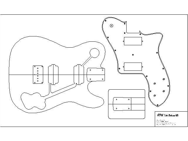 Stratocaster Neck Template Guide to Get Telecaster Guitar Neck Plans Simple Wood