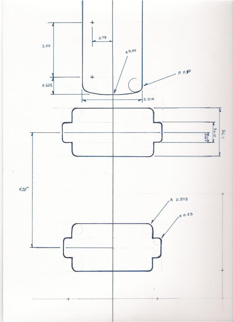 Stratocaster Neck Template Made by Design Januar 2015