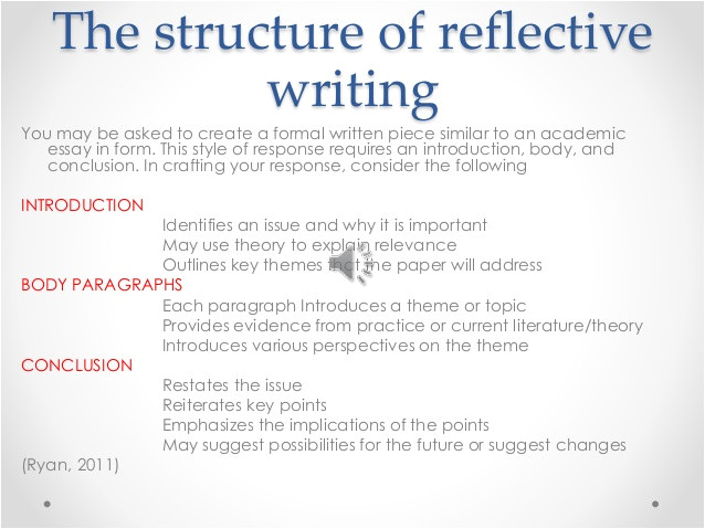 critical reflective writing 42455875