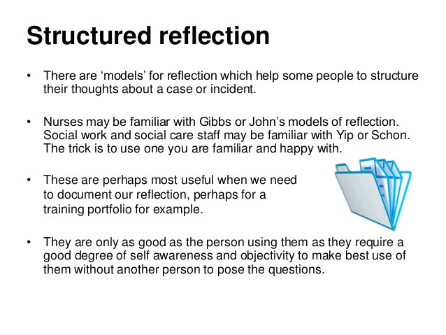 reflection on practice