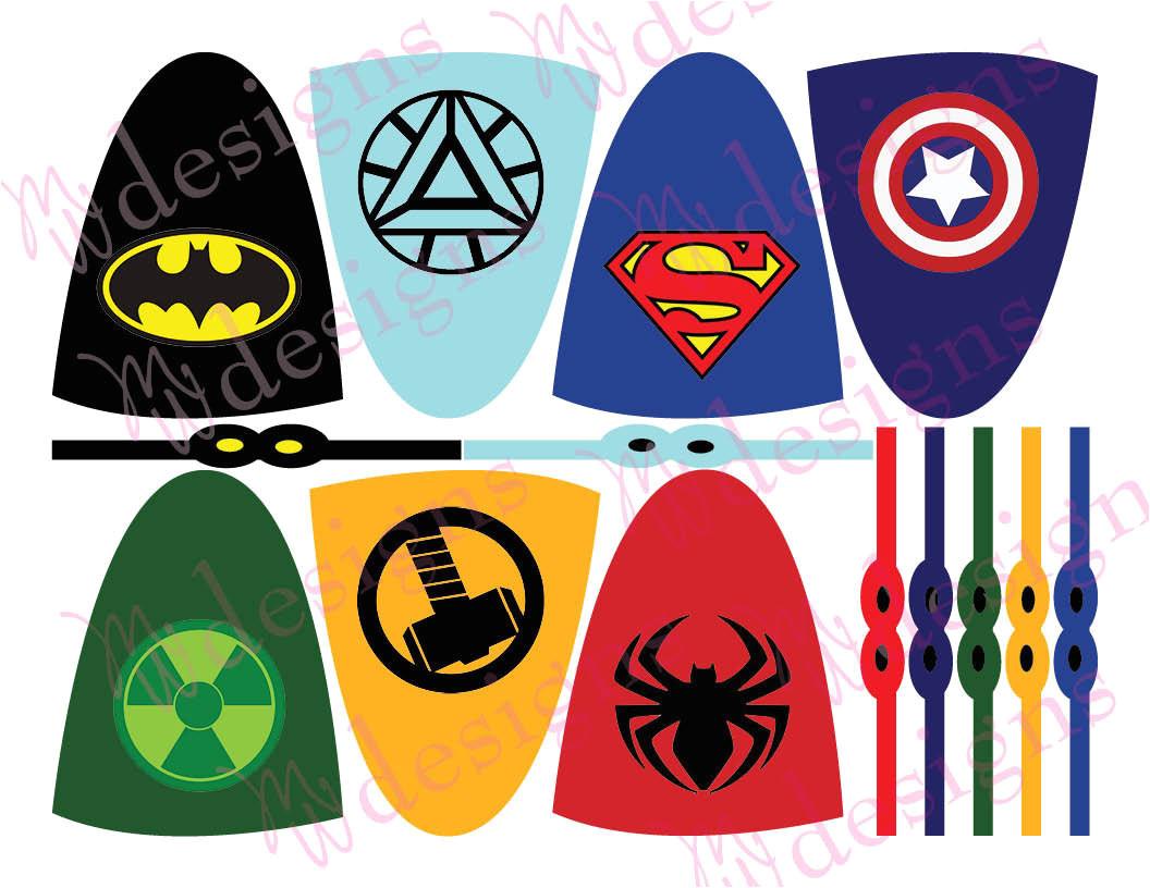 post printable superhero lollipop 133261