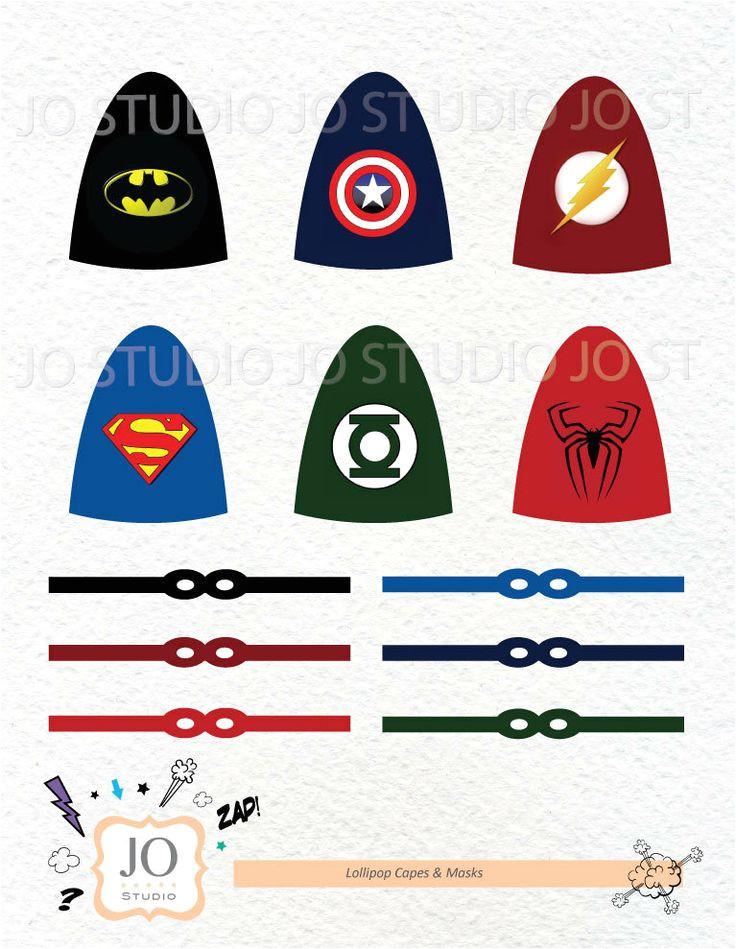 Superhero Lollipop Cape Template 8 Best Images Of Printable Superhero Lollipop Printable