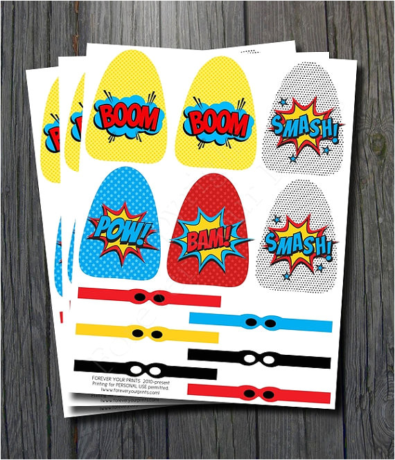 post superhero lollipop printables 394383