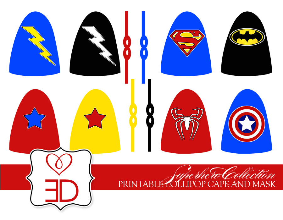 new party collection superhero