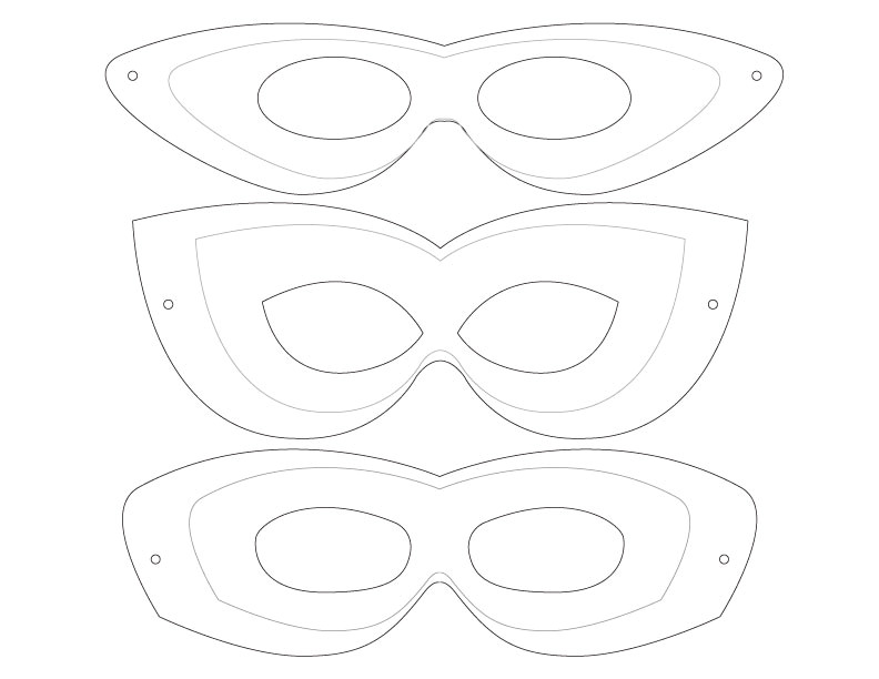 Superhero Mask Template for Kids 10 Minute Superhero Costume Dabbles Babbles