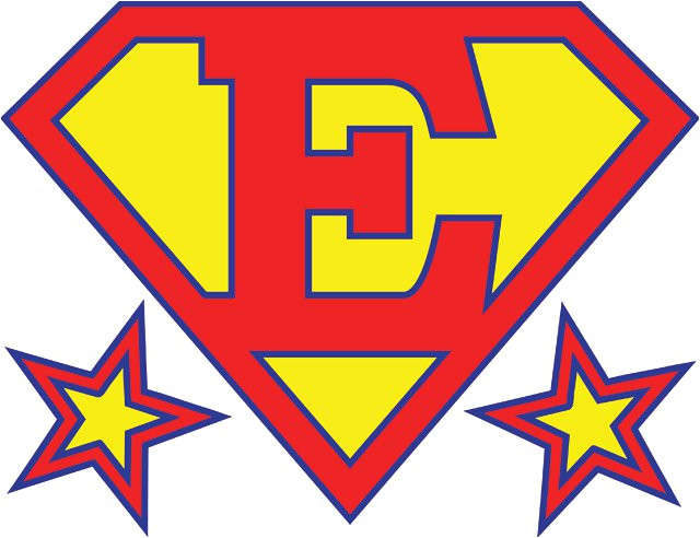 printable superman birthday banner for a super hero birthday party also great as an iron on t shirt graphic