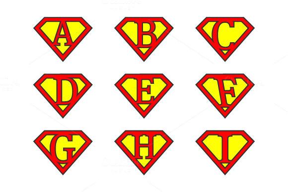 81891 super alphabet letters