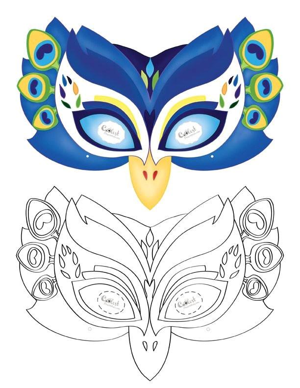 fresh 44 best felt bird mask images on pinterest swan mask template