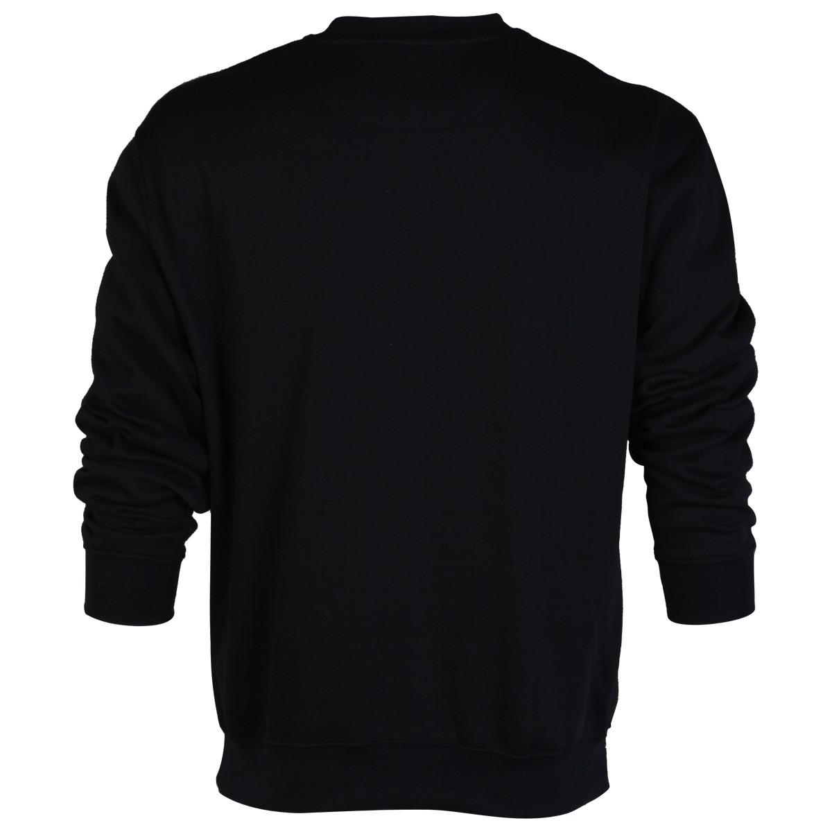 crew neck sweatshirt template vector