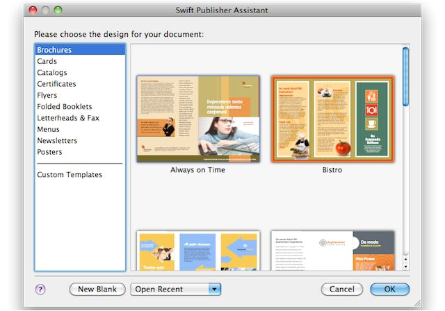 Swift Publisher Templates Swift Publisher Impaginazione E Desktop Publishing Con
