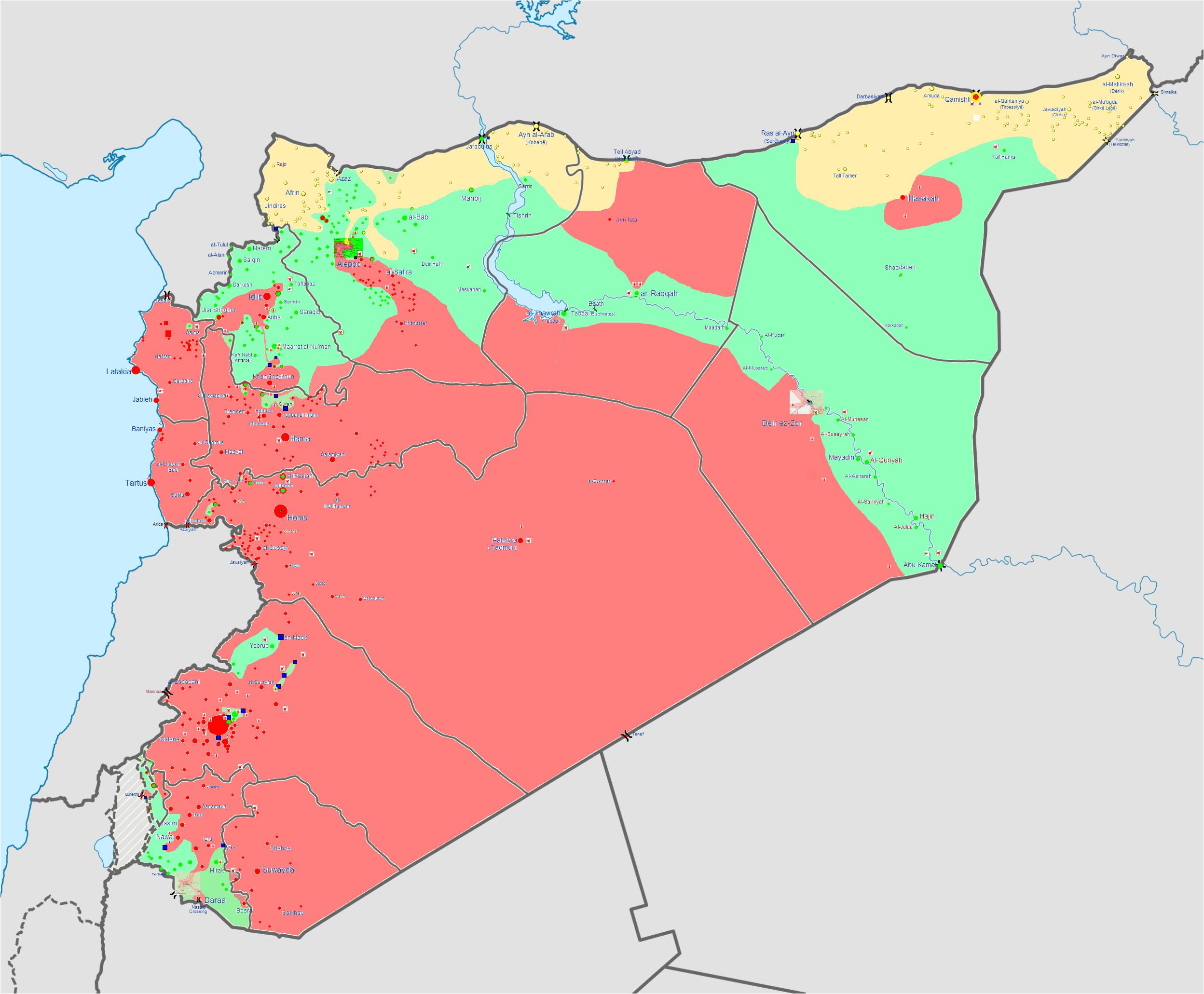 Syria War Template Kurdistan News