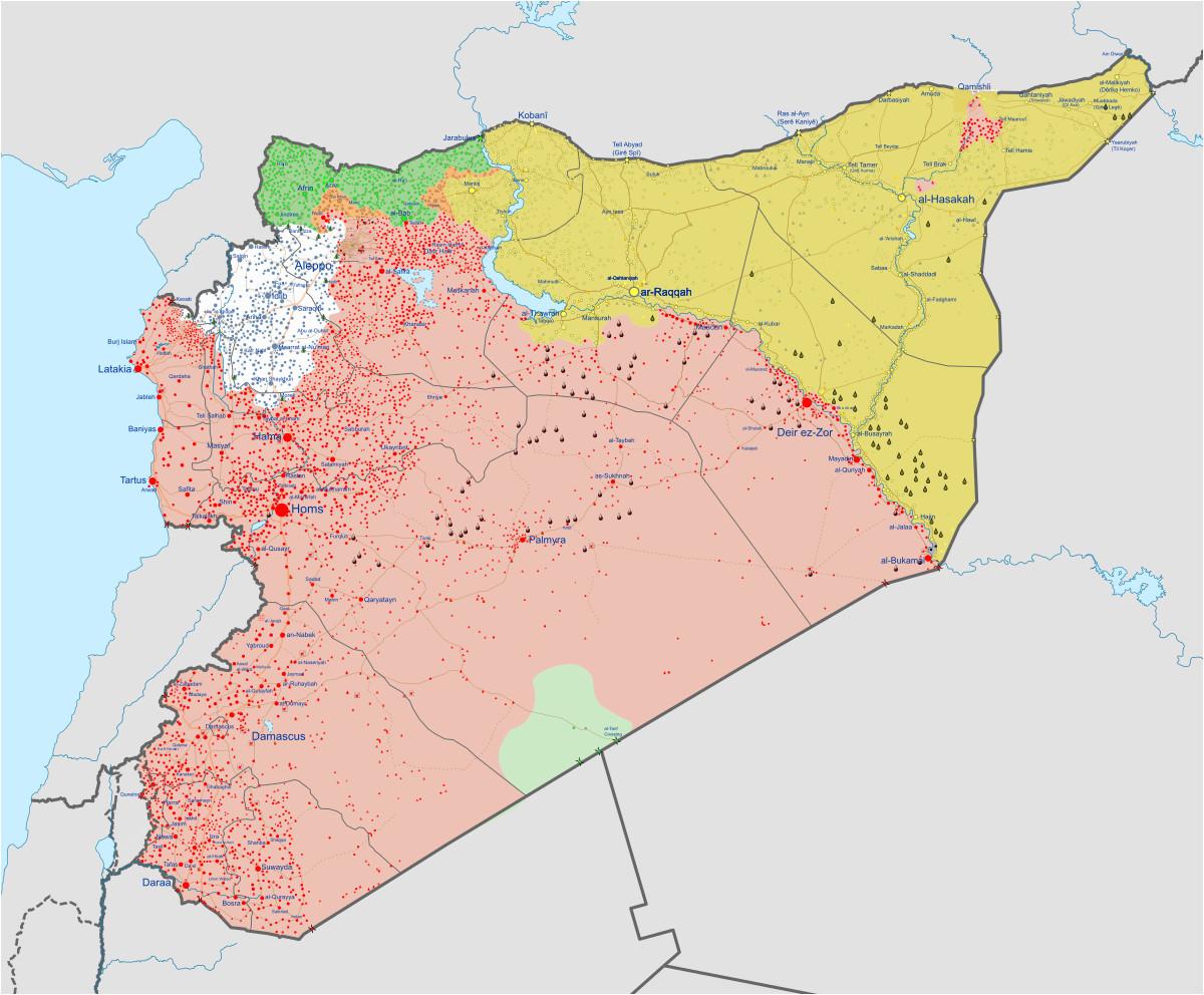 Syria War Template Syrian Civil War Wikipedia