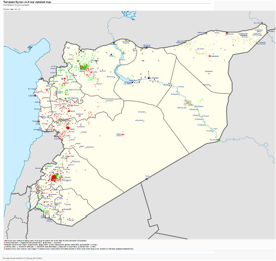 strategic intelligence assessment for syria 4 state of play part iii