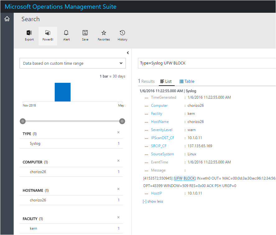 syslog ng template example syslog collection in operations management suite operations