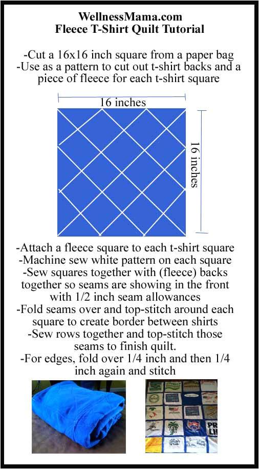 t shirt quilt pattern printable
