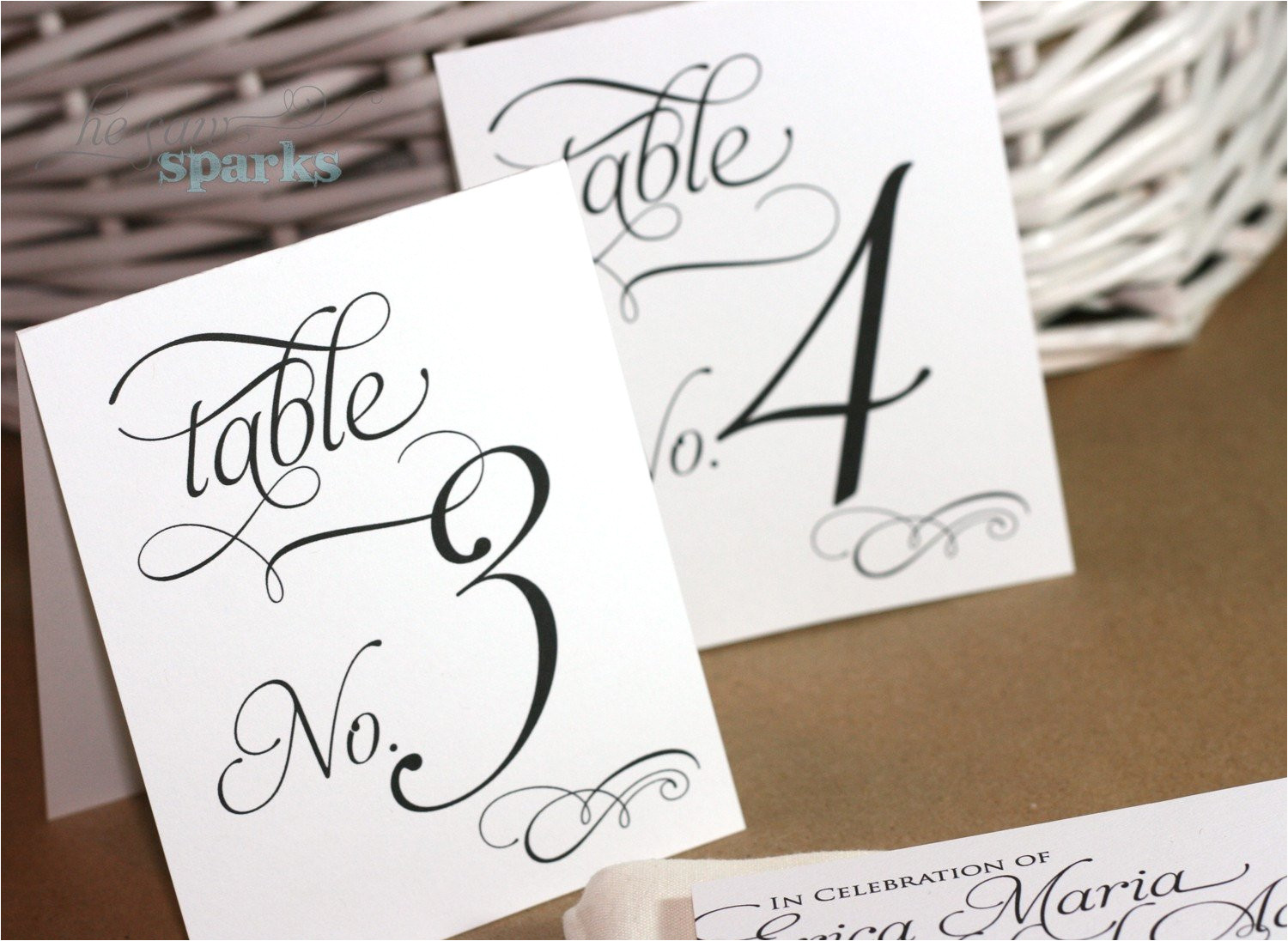 1 20 reception table numbers printable