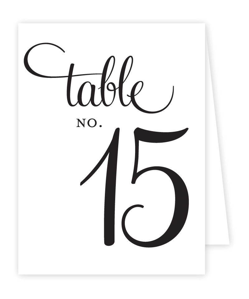 Table Numbers Template for Weddings 6 Best Images Of Tables Number 2 Template Printables