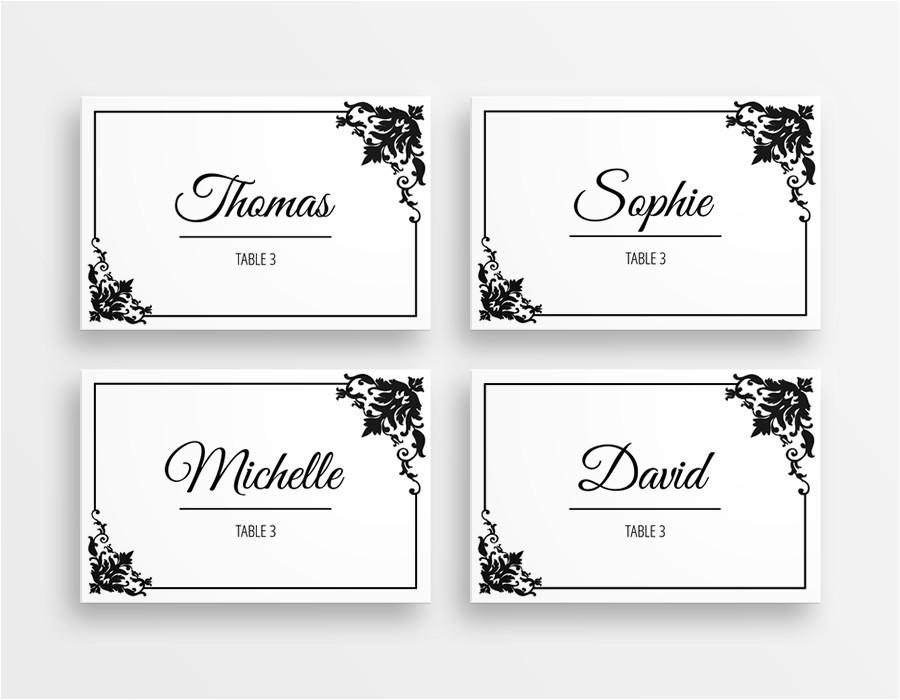 table name tags template printable 217