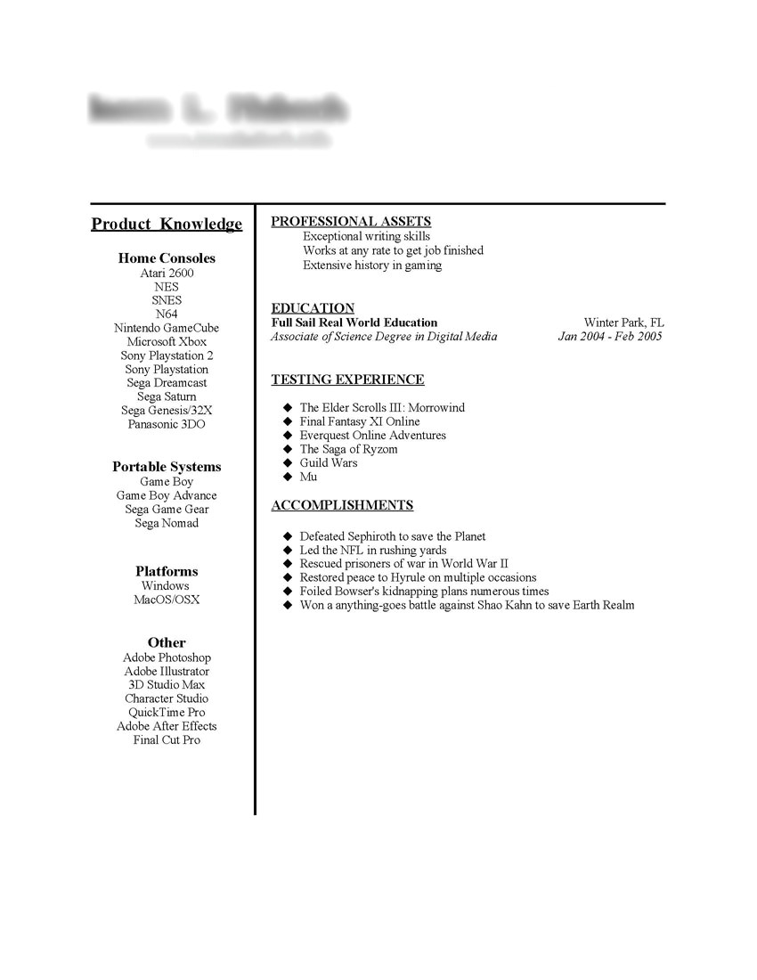 taco bell resume examples