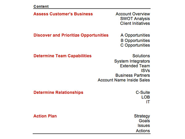 target account selling template go to market strategy annual plan template four quadrant
